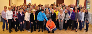 This was our first daytime choir in Dalgety Bay