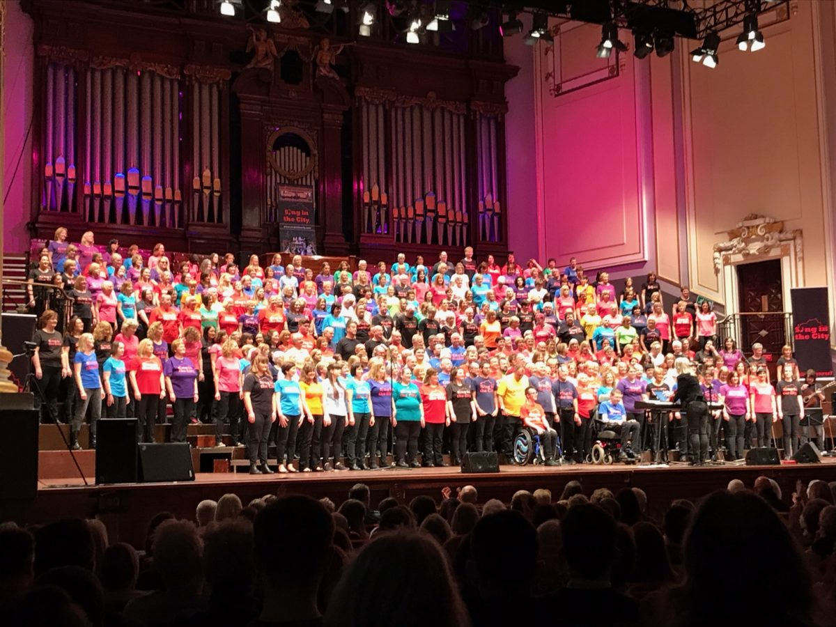 More than a Choir    | Sing in the City