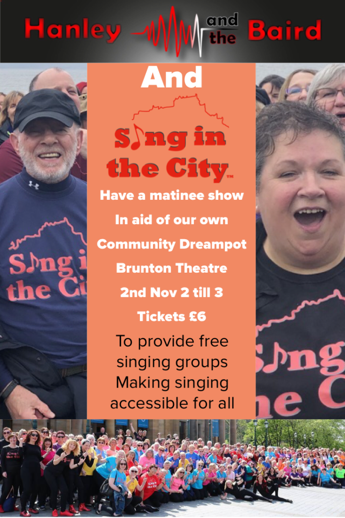 Poster for Sing in the City Community Matinee