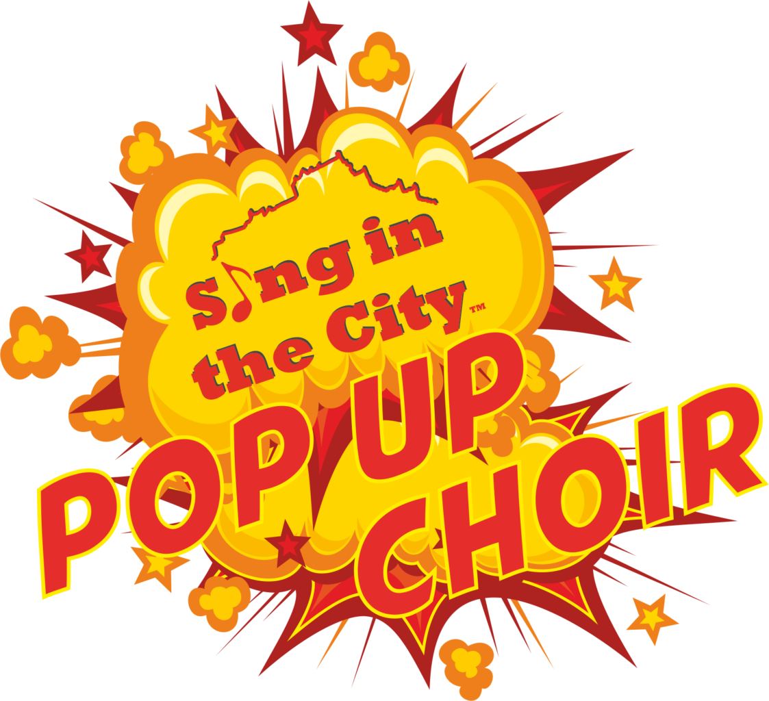 Poster for Sing in the City Pop Up Choir at the Ripple Community Centre